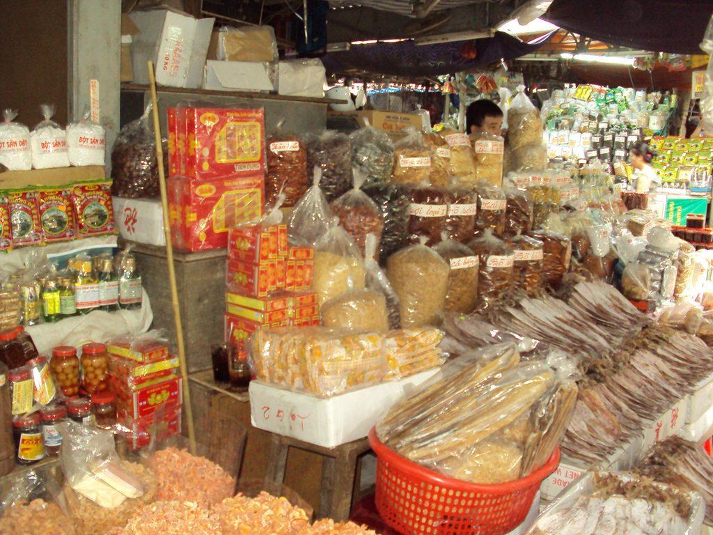 Dịch vụ xách tay thực phẩm khô đi nước ngoài